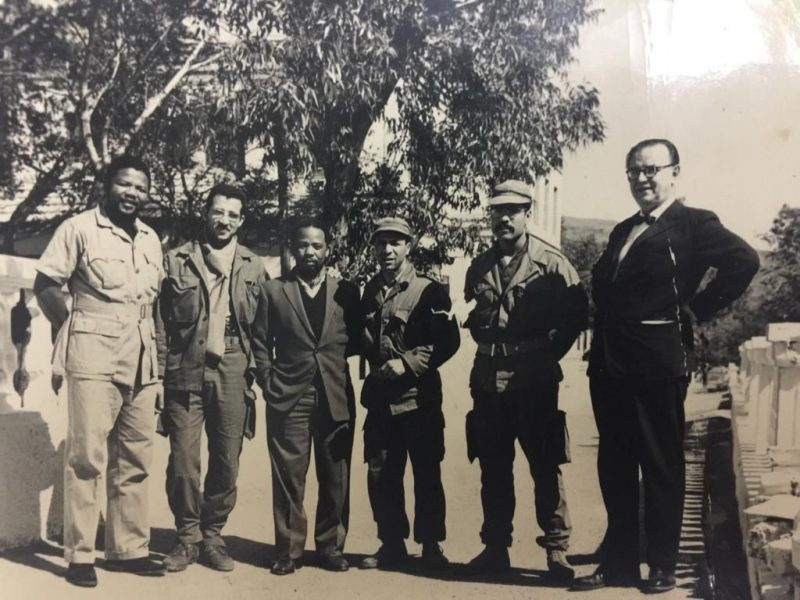 Mandela arrested 58 years ago