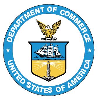 U.S. Department of Commerce logo U.S. Department of Commerce