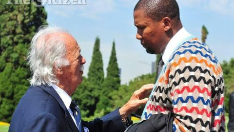 Our family has lost a father and our country a stalwart of stalwarts, lala kahle Uncle George Bizos
