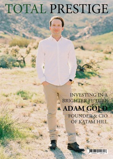 TOTALPRESTIGE MAGAZINE - On cover Adam Gold
