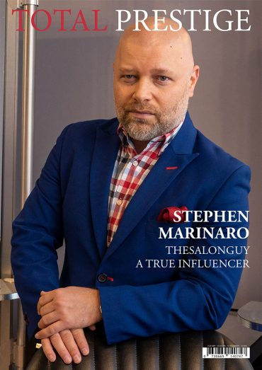 TOTALPRESTIGE MAGAZINE - On cover Stephen Marinaro