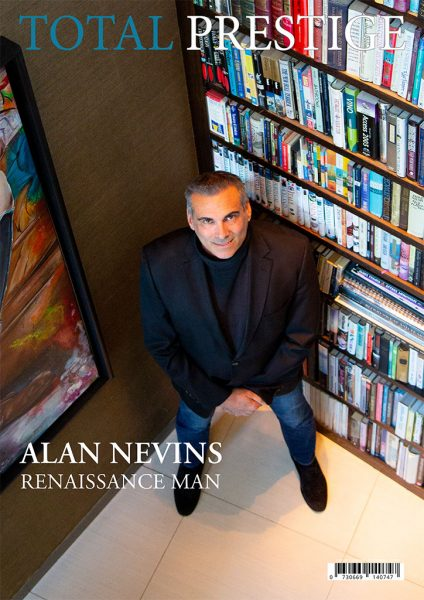 TOTALPRESTIGE MAGAZINE - On cover Alan Nevins