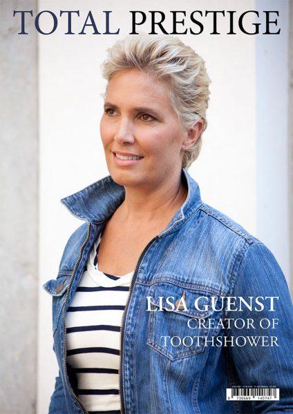 TOTALPRESTIGE MAGAZINE - On cover Lisa Guenst