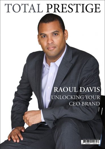 TOTALPRESTIGE MAGAZINE - On cover Raoul Davis
