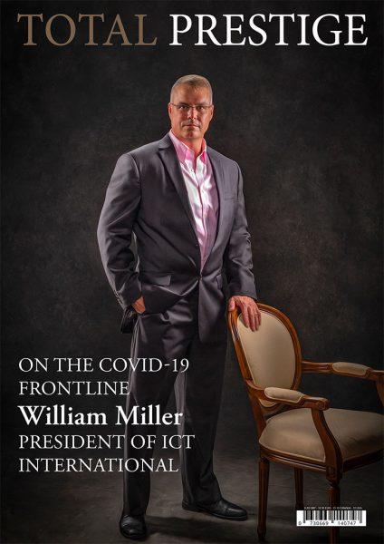 TOTALPRESTIGE MAGAZINE - On cover William Miller