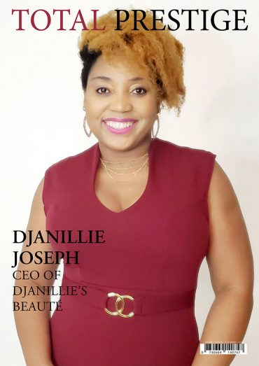 TOTALPRESTIGE MAGAZINE - On cover Djanillie Joseph