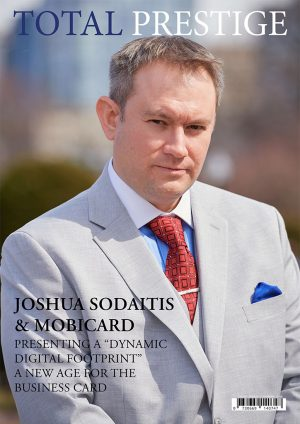 TOTALPRESTIGE MAGAZINE - On Cover Joshua Sodaitis