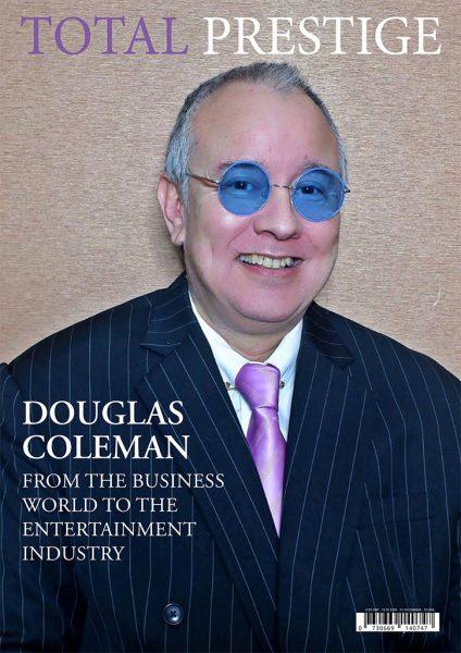 TOTALPRESTIGE MAGAZINE - On cover Douglas Coleman
