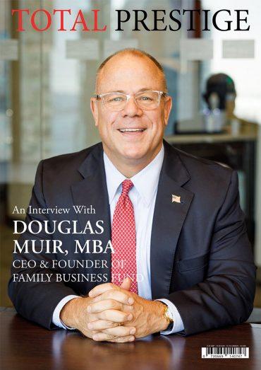 TOTALPRESTIGE MAGAZINE - On cover Douglas Muir