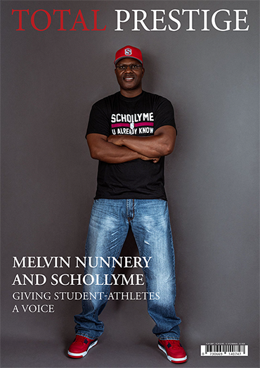 TOTALPRESTIGE MAGAZINE - On cover Melvin Nunnery