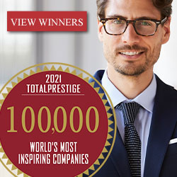 WINNERS. World's 100,000 Most Inspiring Companies 2021-