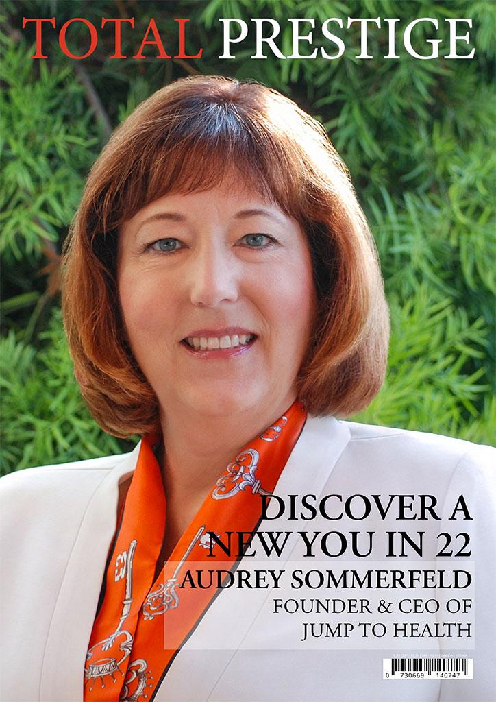 TOTALPRESTIGE MAGAZINE - On cover Audrey Sommerfeld